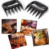 Solid Pulled Pork Shredder Meat Claws, Meat Handler Forks