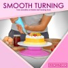 Revolving Cake Decorating Turntable Stand for Cake Decorating | Rotating Turntable Cake Stand