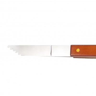 CKBBT001 Grill Tong (wood handle)